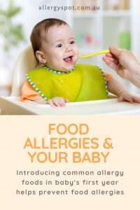 Feed your baby new foods to help prevent food allergies