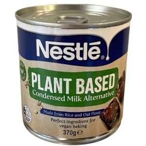 Can of Nestle Plant Based Condensed Milk Alternative