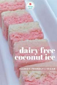 Read more about the article Dairy free coconut ice: slice of allergy-friendly and vegan sweetness