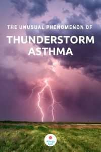 Read more about the article The unusual phenomenon of thunderstorm asthma