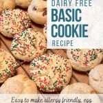 Best Allergy Friendly Basic Cookie Recipe – Egg & Dairy Free, Vegan