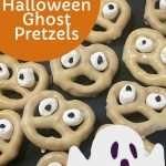 Spooky Halloween ghost pretzels – allergy free and vegan